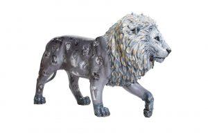 Tusk Lion Trail 2021 - David Yarrow - Generously sponsored by Genesis Imaging Image Credit: Nick Andrews