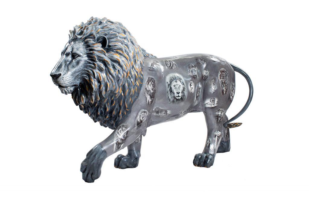 Tusk Lion Trail 2021 - David Yarrow - Generously sponsored by Kevin Richardson Foundation Credit: Nick Andrews