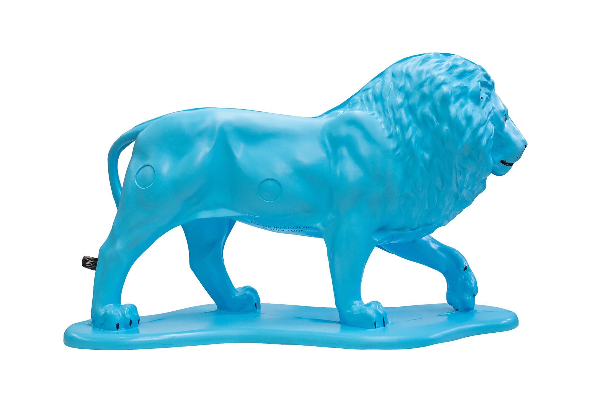 Tusk Lion Trail 2021 - Gavin Turk - Generously sponsored by Vodafone Foundation Image Credit: Nick Andrews
