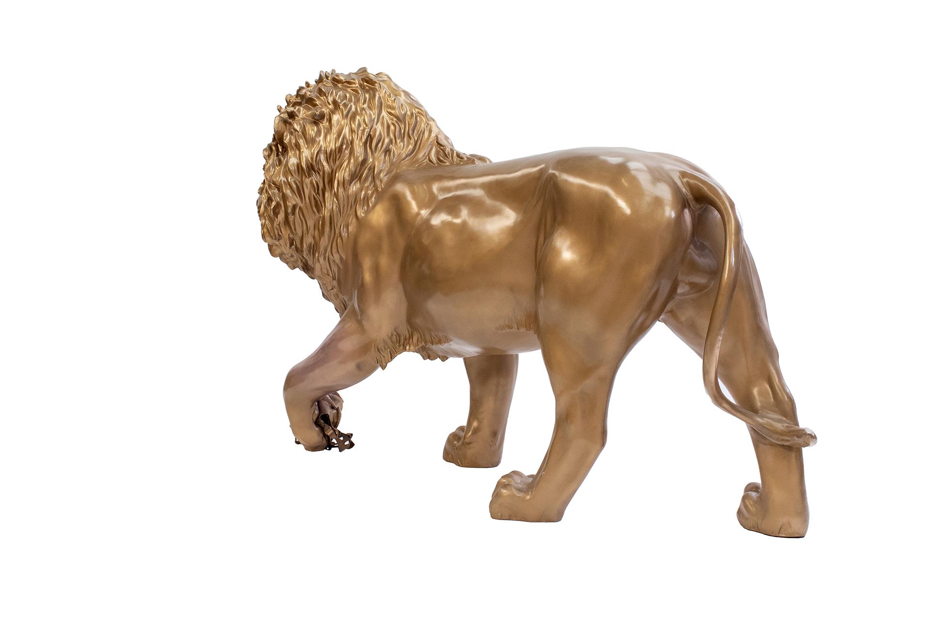 Tusk Lion Trail 2021 - Mauro Perucchetti - Generously sponsored by DP World Image Credit: Nick Andrews