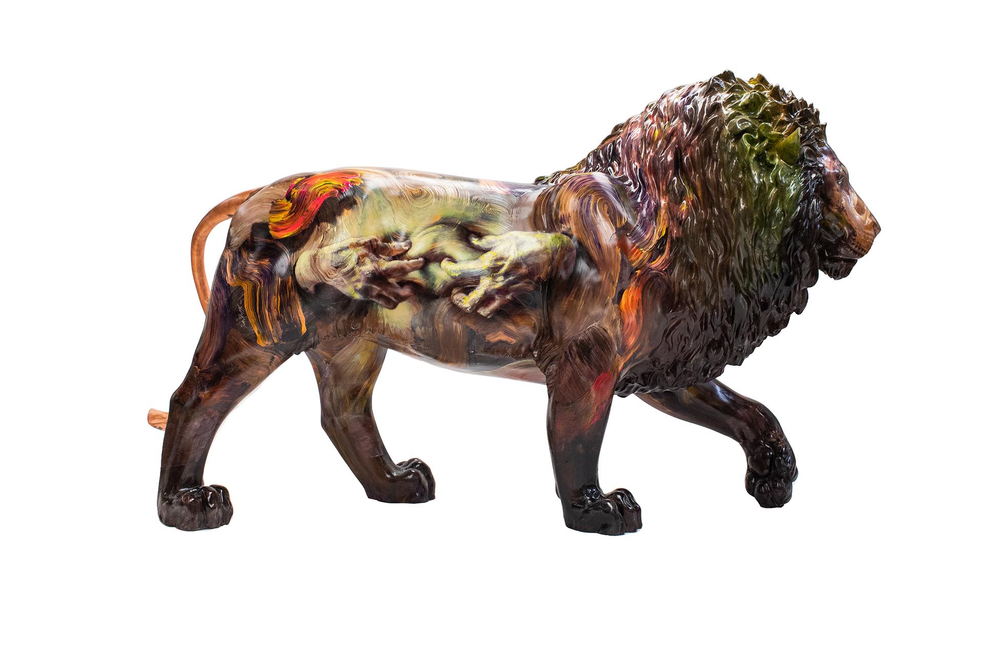 Tusk Lion Trail 2021 - Sara Shamma - Generously sponsored by Animal Friends Image Credit: Nick Andrews